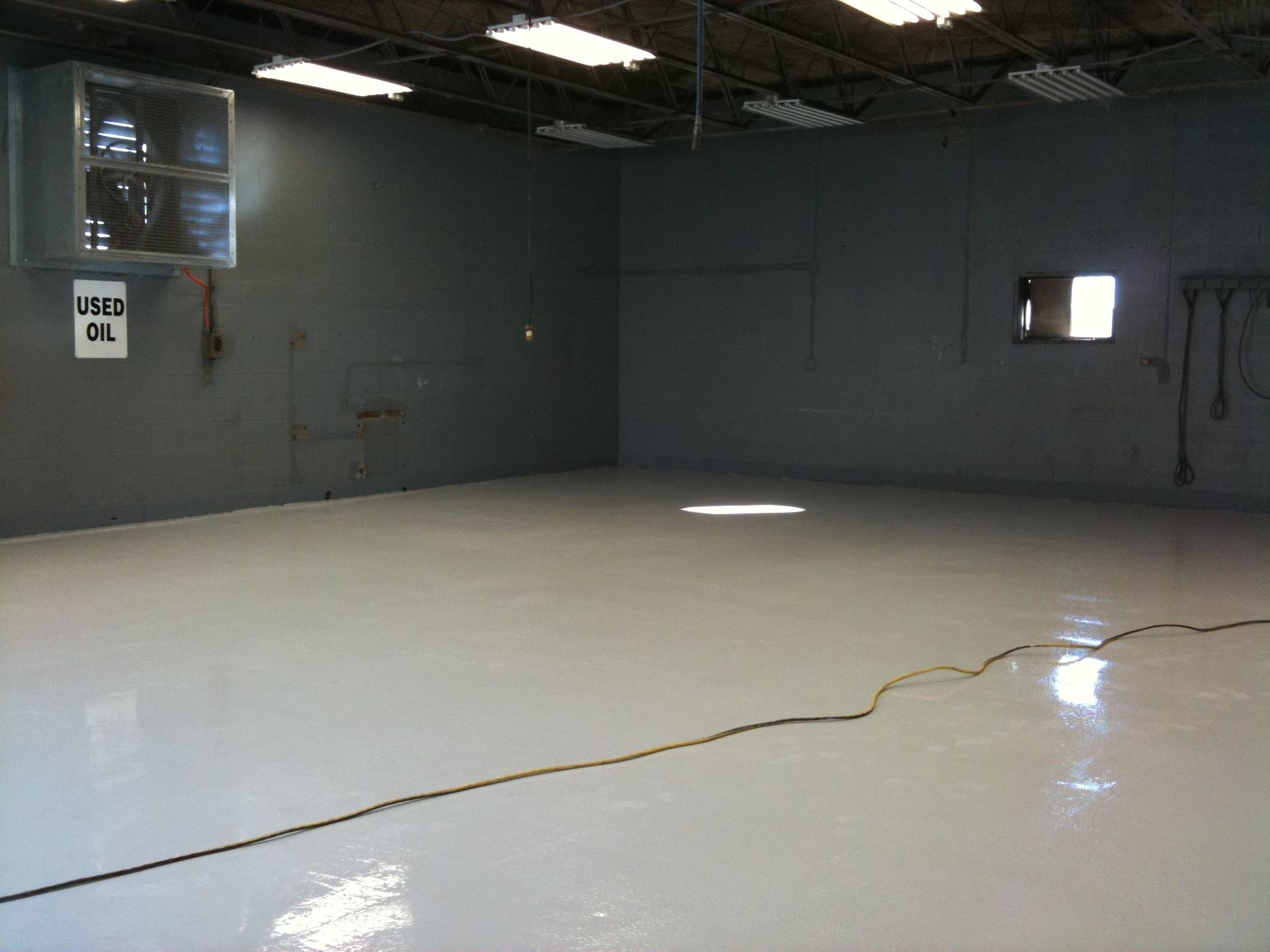 Warehouse Floor Reseal